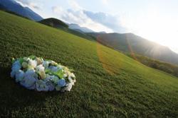 Longed-for garden wedding