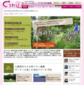 ホテル・宿予約と遊び・グルメの専門サイト「ぐうたび北海道」