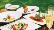 홋카이도 호텔 가든 점심 식사